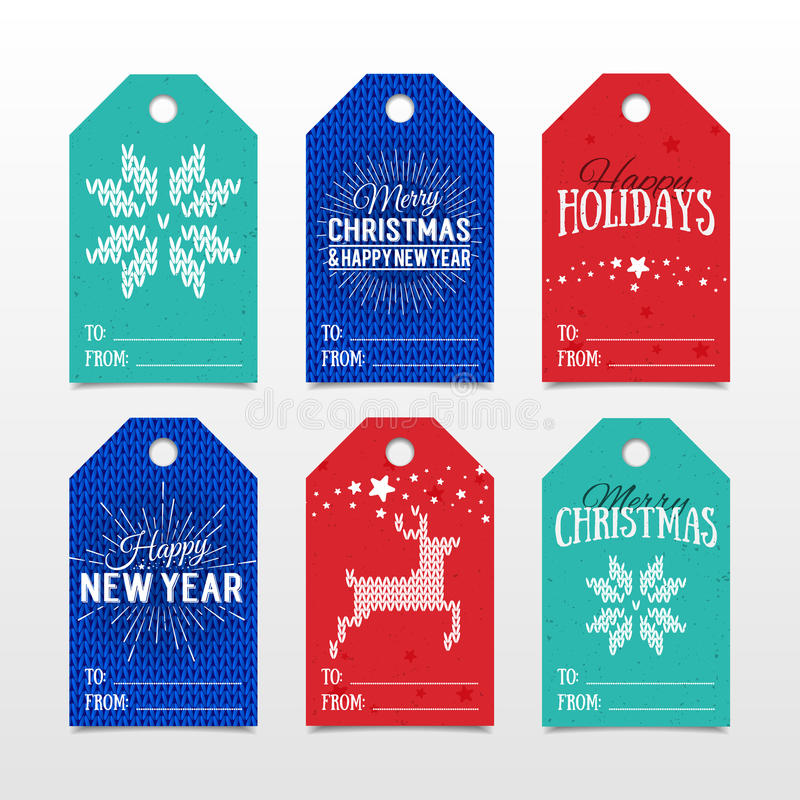 Merry Christmas And Happy New Year - Greeting Card In ...