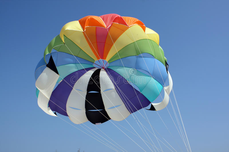 Download Colorful Parachute stock photo. Image of parasail, sports - 10589116