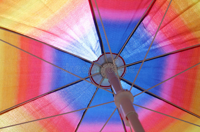 Colorful parasol royalty free stock images