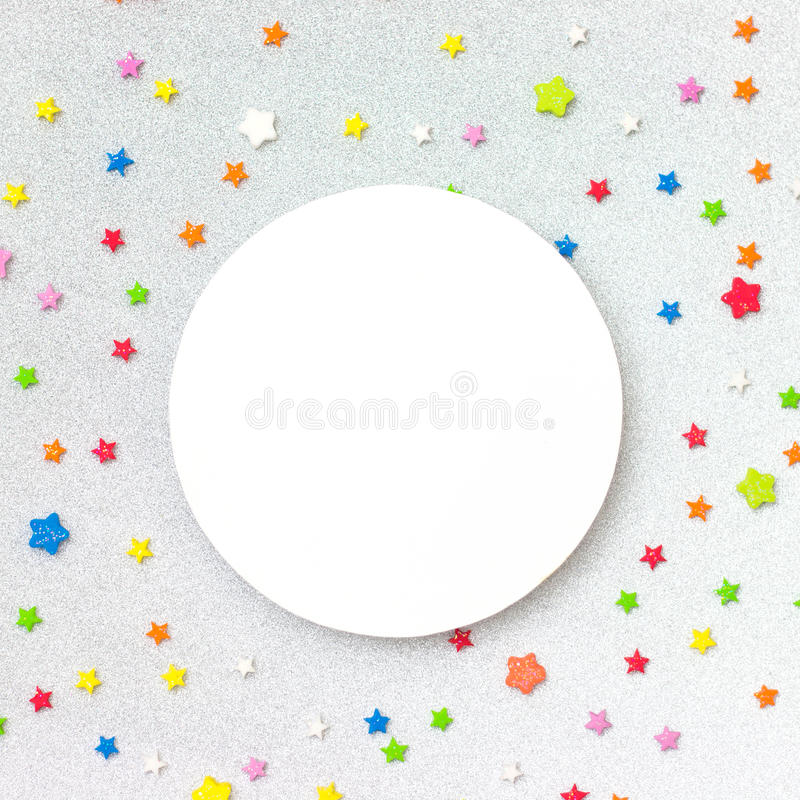 Colorful party background stock photography