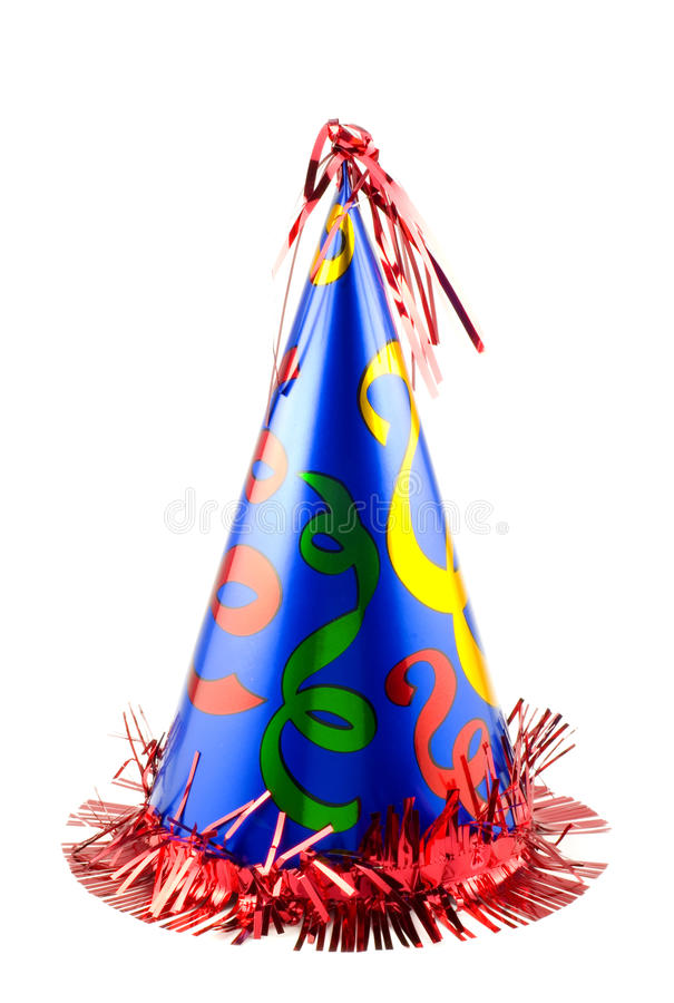 Colorful Party Hat royalty free stock images