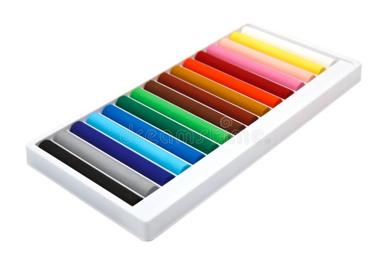 Download Colorful pastel sticks stock image. Image of artistic - 39504767