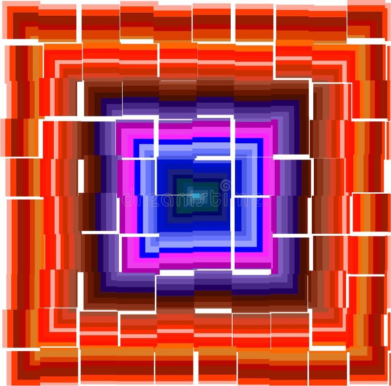 Colorful pattern stock illustration
