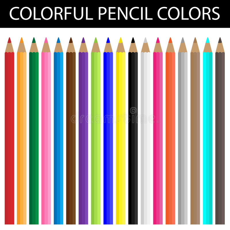 Free Colorful Pencil Colors Stock Photo - 27049650