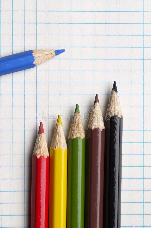 Download Colorful pencils stock photo. Image of brown, artistic - 12025212