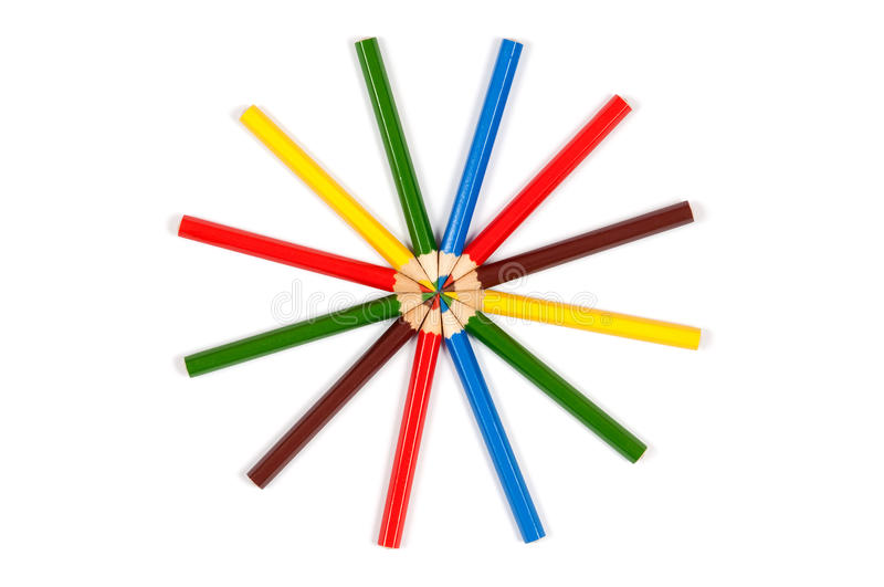 Download Colorful pencils stock photo. Image of colorful, background - 24057736