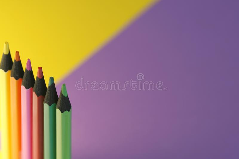 Download Colorful pencils stock photo. Image of artist, point, crayons - 5562040