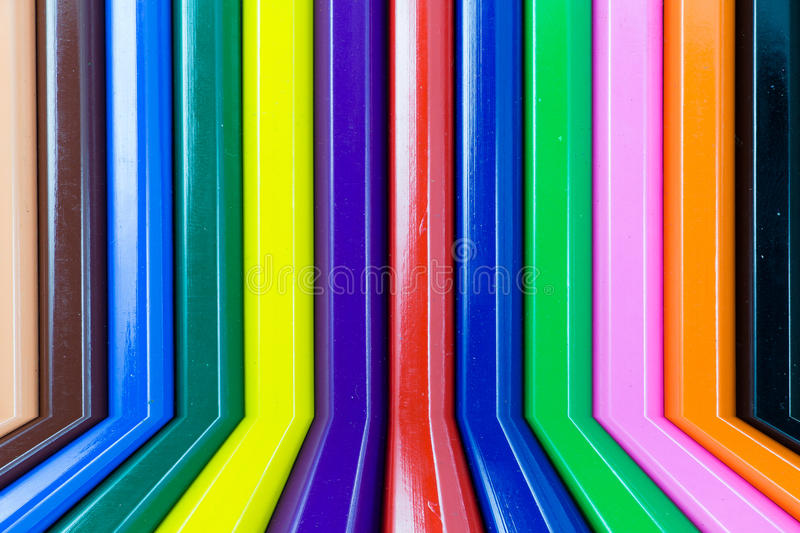 Colorful pencils background stock image