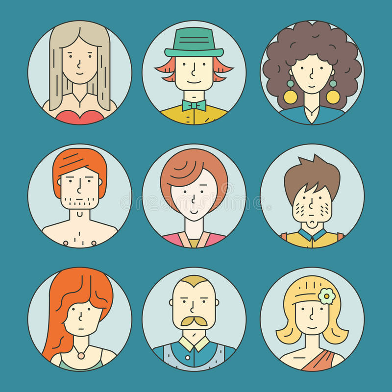 Free Colorful People Stock Images - 56180924
