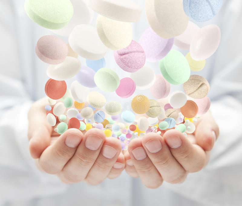 Download Colorful pills stock image. Image of antidote, medication - 22368641