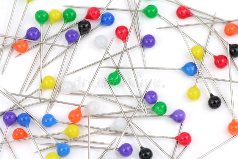 Download Colorful pins stock photo. Image of colorful, plastic - 1714314