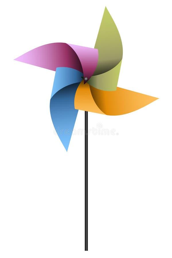 Free Colorful Pinwheel Royalty Free Stock Image - 15816846