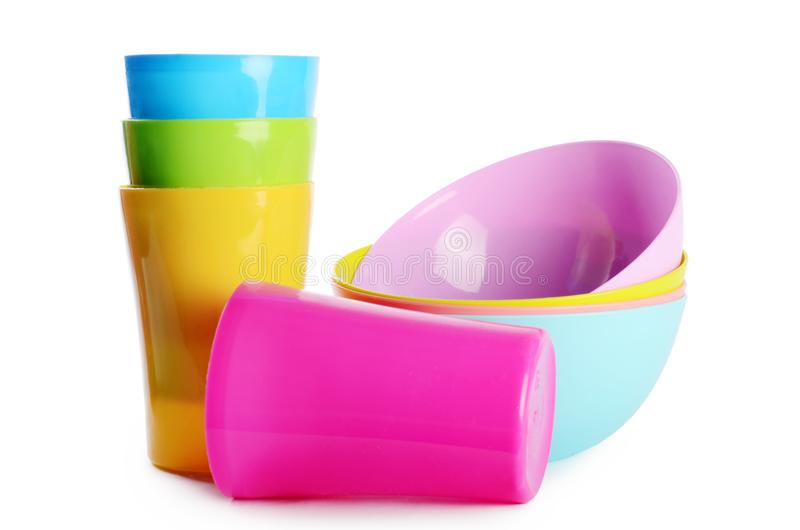 Download Colorful Plastic Cups And Plates Stock Photo - Image of blue cups 100573412  sc 1 st  Dreamstime.com & Colorful Plastic Cups And Plates Stock Photo - Image of blue cups ...