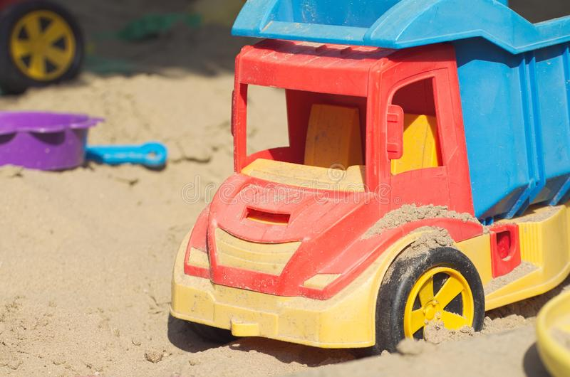 Plastic Truck Toy stock images