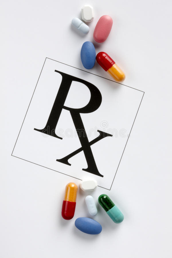 Free Colorful Prescription Drugs Stock Photography - 11250182