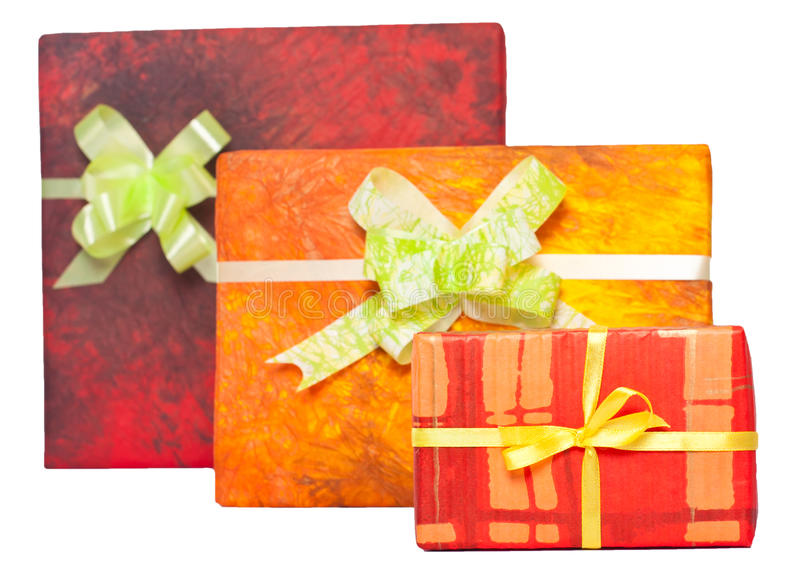 Download Gift boxes with ribbon stock photo. Image of wrapped - 29740992