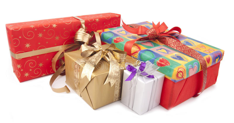 Colorful Presents Royalty Free Stock Image