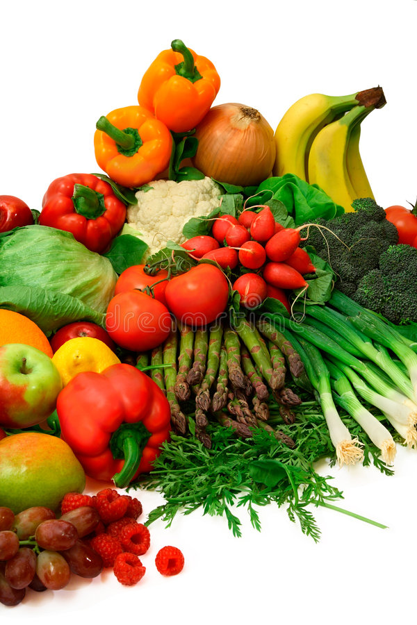 Colorful Produce stock images