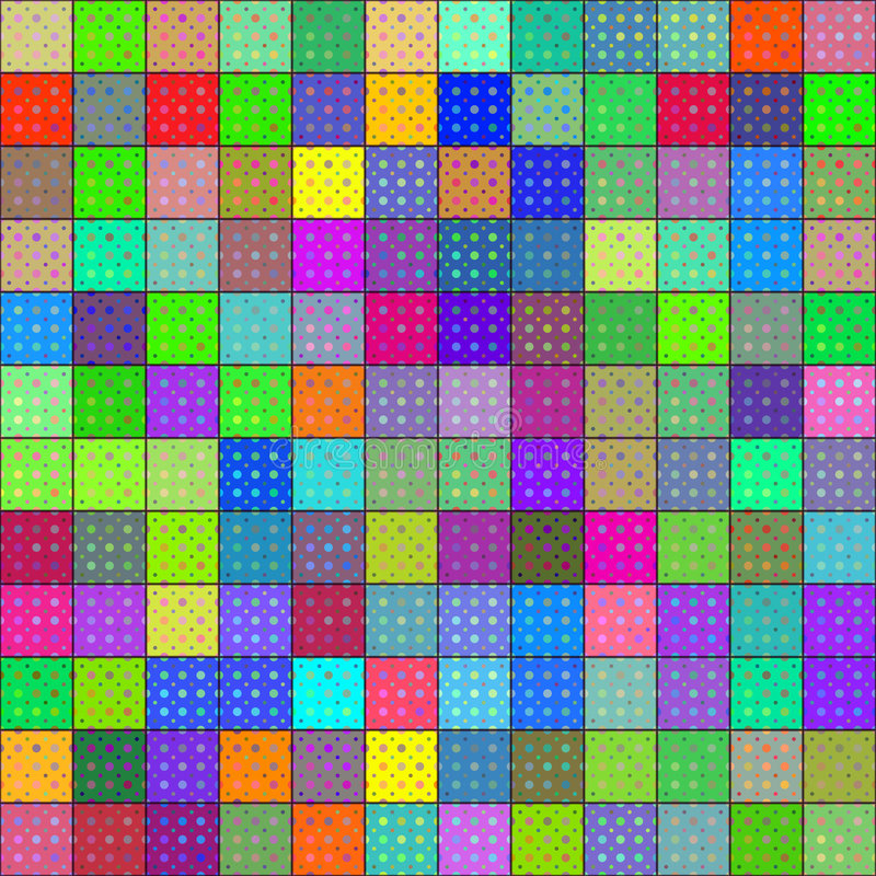 Download Colorful rag pattern stock illustration. Image of holiday - 7523032