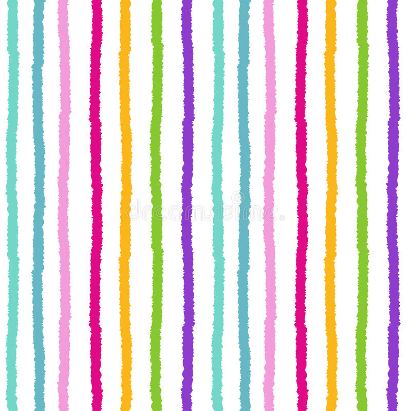 Colorful rainbow stripes seamless pattern background illustration. Colorful rainbow stripes seamless vector pattern background illustration stock illustration