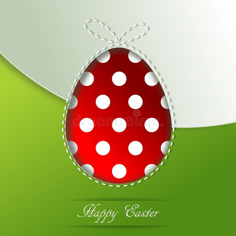 Download Easter greeting card stock illustration. Image of background - 30065142
