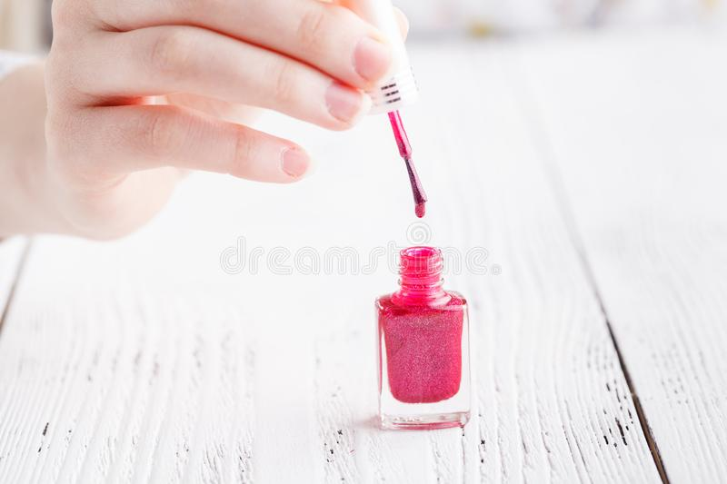 Colorful Red Collection Of Nail Designs For Summer And Spring. M ...