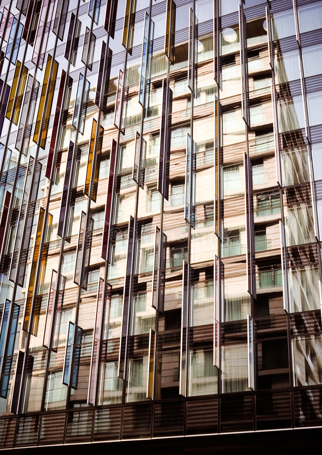 Free Colorful Reflection, Architecture Abstract Royalty Free Stock Photo - 19625945