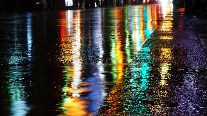 Colorful Reflections Stock Photography