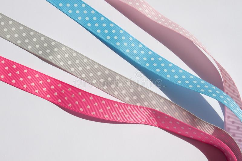 Colorful ribbons background. royalty free stock photos