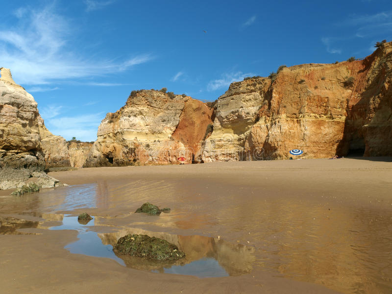 Download Colorful Rock Cliffs Of The Algarve Royalty Free Stock Photography - Image: 24404657