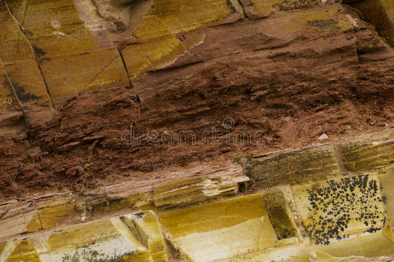 Colorful Rock Texture stock images