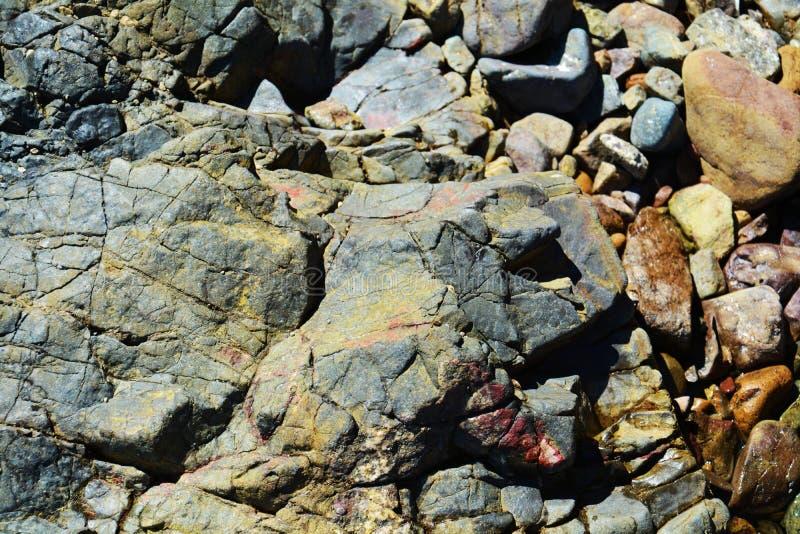 Colorful rocks, landscape. Stone, rocks background royalty free stock photography