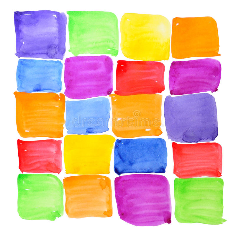 Colorful rough paint samples. Abstract background. royalty free stock images