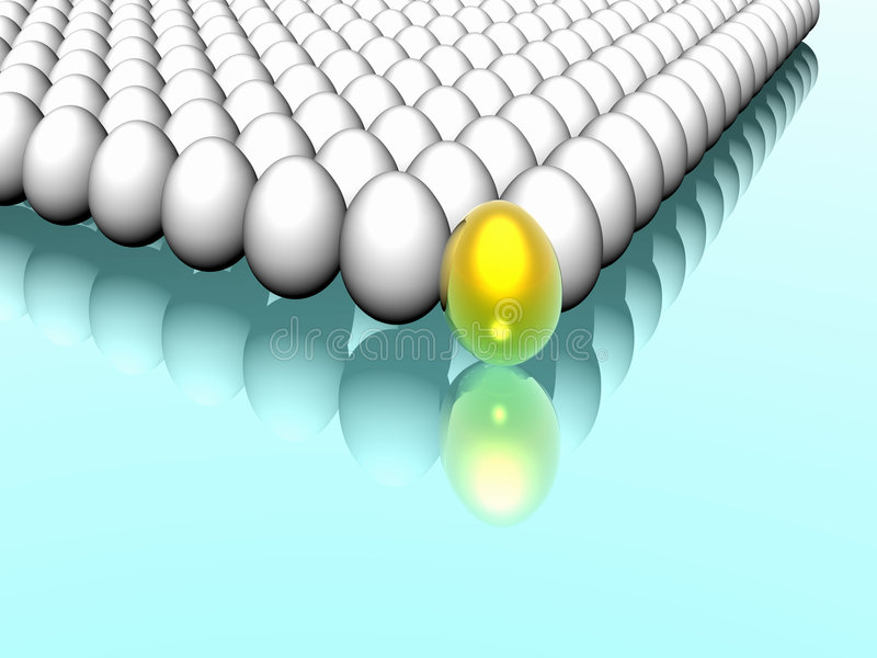 Download Colorful Rows Of Eggs Stock Photos - Image: 1918373