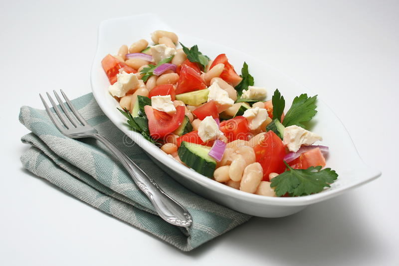 Colorful salad royalty free stock photography