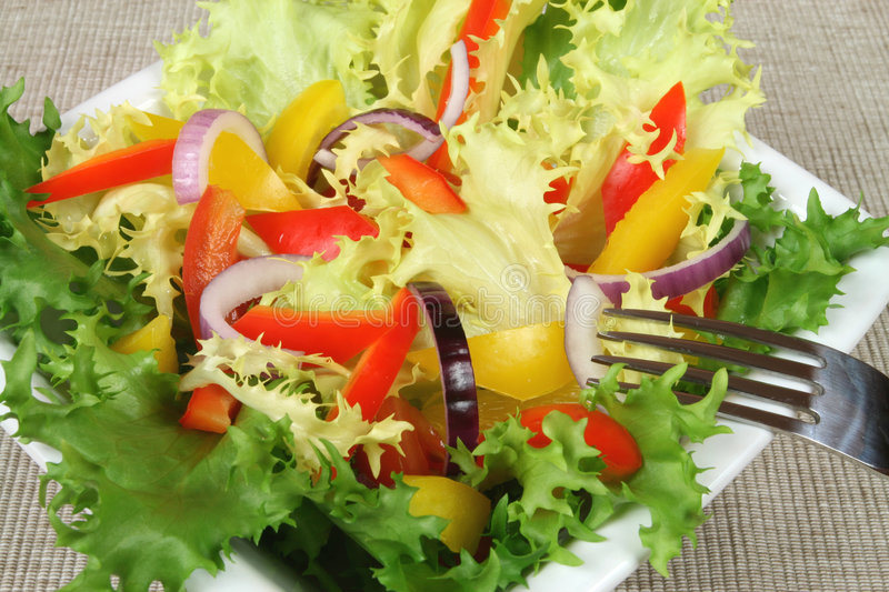 Download Colorful salad stock image. Image of food, veggie, colourful - 7137123