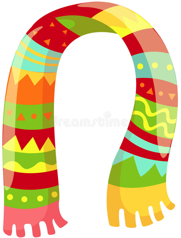 Free Colorful Scarf Stock Photo - 25672790