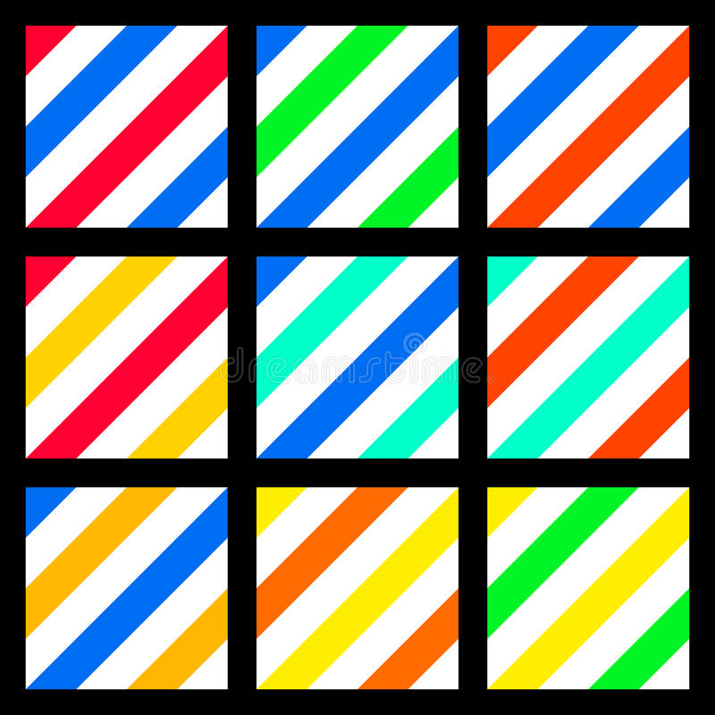 Colorful Seamless background sweet fashion colors stripe royalty free stock photo