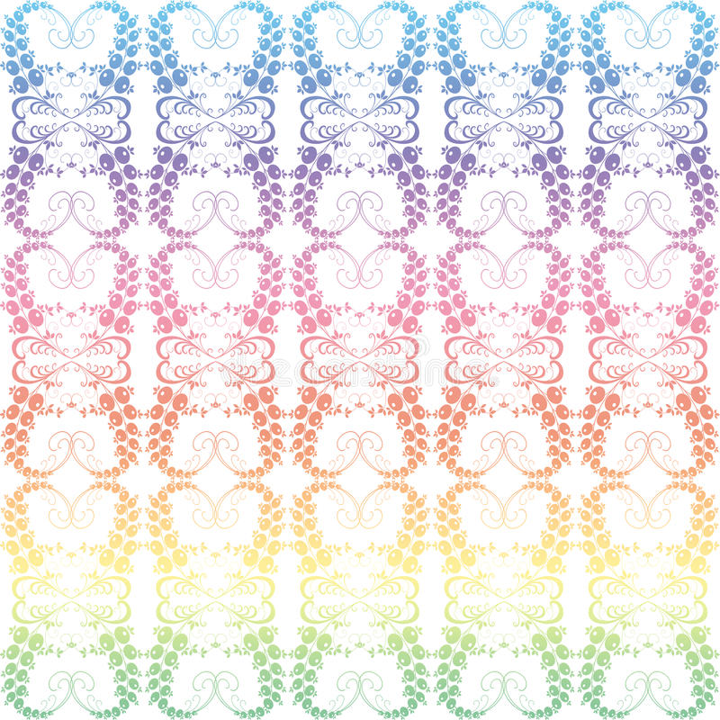 Download Colorful Seamless Floral Pattern Stock Vector - Image: 19297356