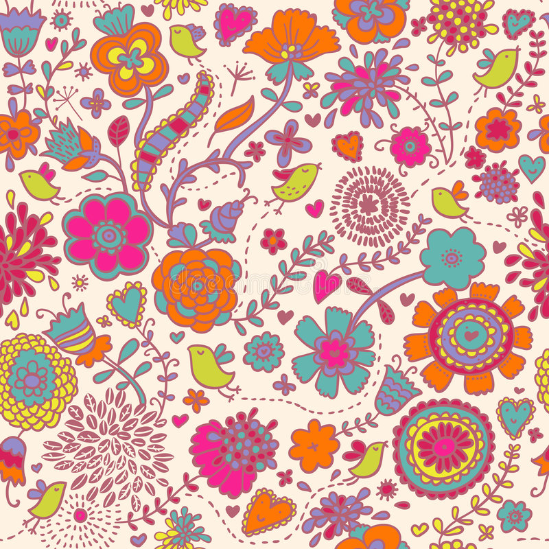 Download Colorful seamless pattern stock vector. Illustration of design - 8725204