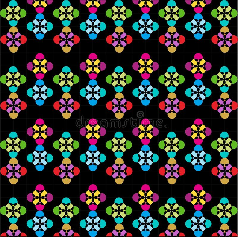 Colorful Seamless Pattern With Flowers , Abstract, Illustrator Floral Pattern Wallpaper. This is my design about Pattern Wallpaper and I hope you like it. With royalty free illustration