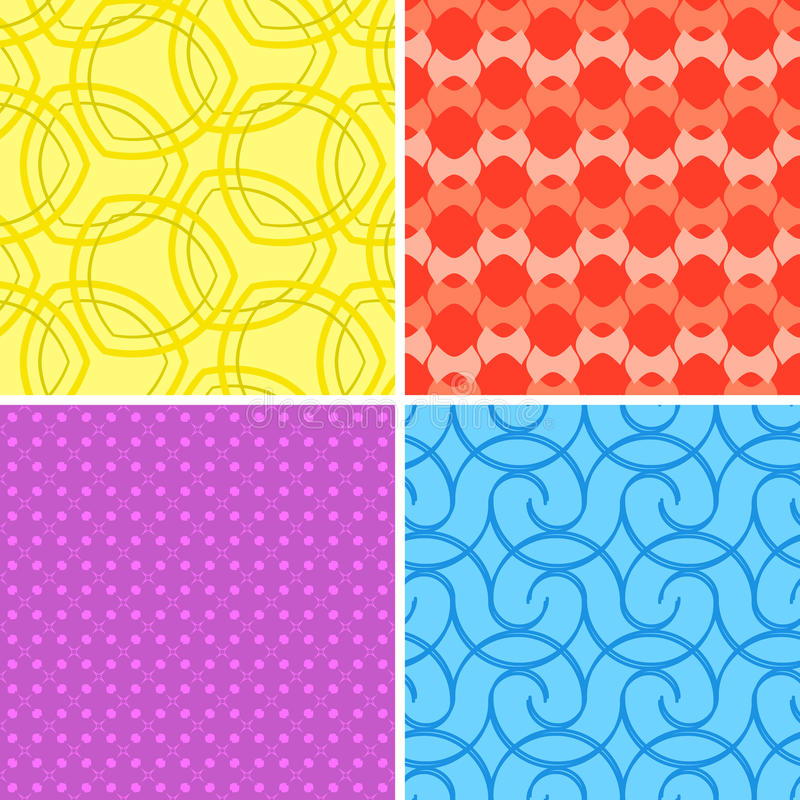 Download Colorful Seamless Patterns Stock Photos - Image: 34137593