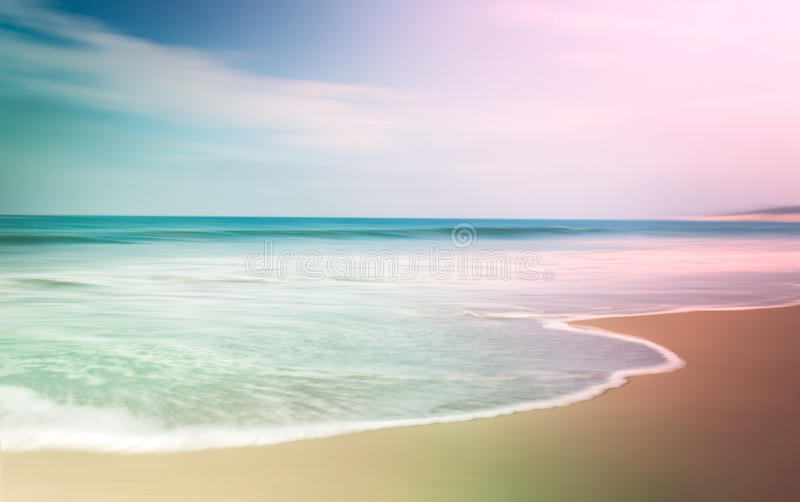 Colorful Seascape stock images