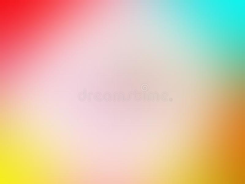 Colorful shaded abstract blur background wallpaper, vector illustration. Abstract blur background wallpaper, vector illustration. colorful blur background for stock illustration