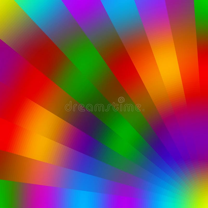 Colorful , shaded and 3 d with lighted effect computer generated background image design. Useful for many purpose like ,printing , screen savers , festivals royalty free illustration