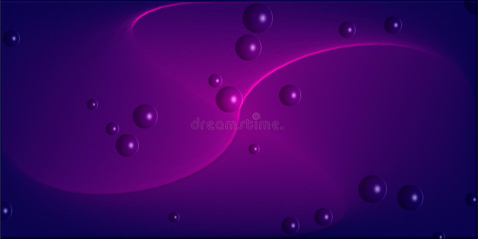 Colorful , shaded and lighted with 3 d effect computer generated background image and wallapaper design. Colorful , shaded and lighted with 3 d effect computer royalty free illustration