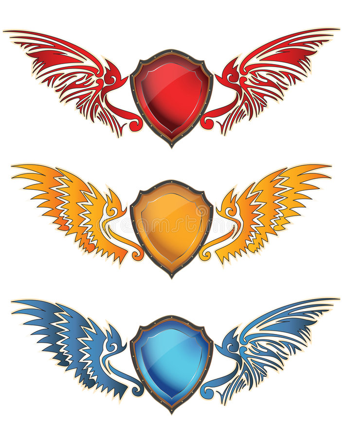 Download Colorful Shield Royalty Free Stock Photos - Image: 8606008
