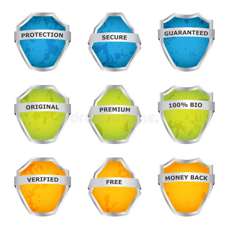 Download Colorful Shields Stock Photos - Image: 26699273