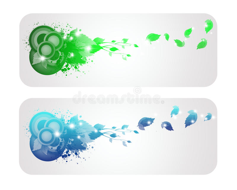 Download Colorful And Shine  Nature Banner Stock Illustration - Image: 28744481