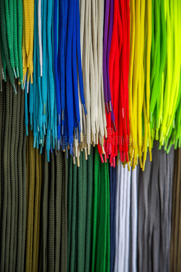 Free Colorful Shoelaces Royalty Free Stock Images - 62650619